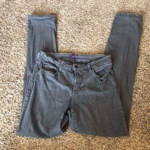 NYDJ Pants - NYDJ Women's Skinny Jeans - Grey (Stone) - Size 8
